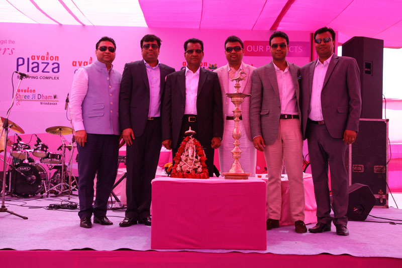 Bhoomi Pujan of Avalon Royal Park